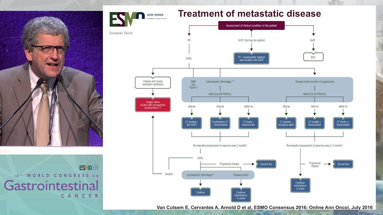Controversy Debate 4 Treatment Algorithms In Metastatic Crc Esmo Guidelines Youtube