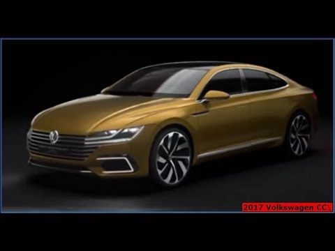 2017 VW CC RLINE EXECUTIVE - Exterior, interior and ride along
