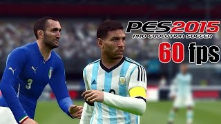 Argentina vs. Italy | Friendly Match | Pro Evolution Soccer 2015 (PES 2015)