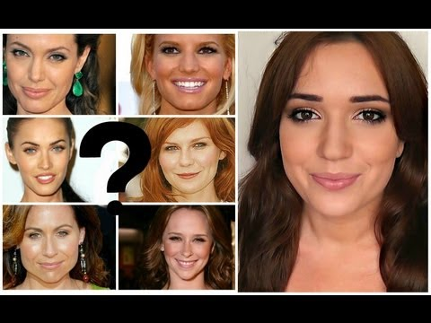 Faceshapes! The most common face shapes...