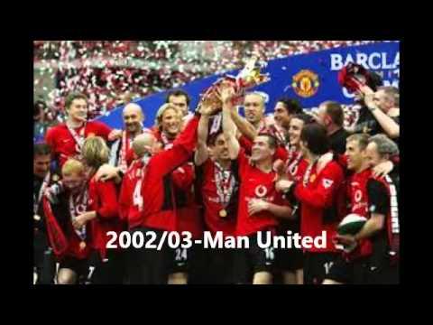 Premier league winners 1993 2015