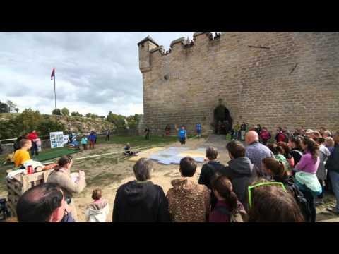 Kost Castle Highline Meeting 2015 (4K)