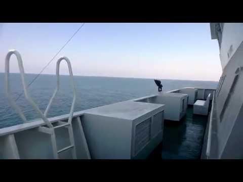amazon ship at sea