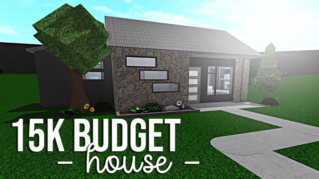 Bloxburg 15k Budget House Youtube