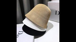 Шляпа женская маленькая панама защита от солнца 2021 новая мода шапки для женщин craisy с Aliexpress