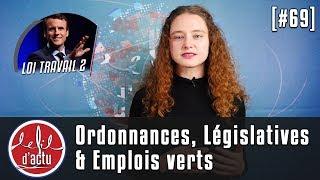 [Fil d'Actu #69] Ordonnances | Législatives | Emplois verts