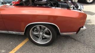 1971 Chevy Monte Carlo SS At Woodward Dream Cruise 2016