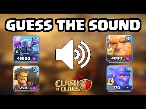 Guess That Troop/Building Sound! | Clash Of Clans Quiz