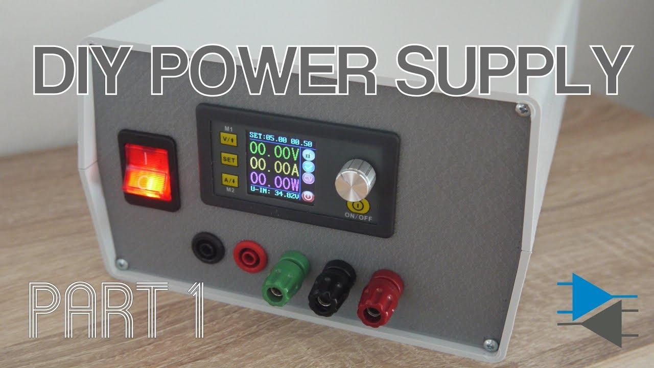 Diy Lab Power Supply Dps 5015 Part 1 Youtube