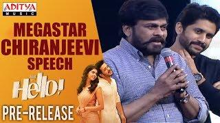 Megastar Chiranjeevi Marvellous Speech @ HELLO! Movie Pre Release Event