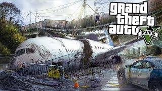 ✈️ Мой самолет упал и разбился! Есть выжившие - реальная жизнь в гта 5 моды gta 5