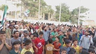 أخبار عربية | مظاهرة في بلدة حزارين تطالب هيئة #تحرير_الشام بالخروج