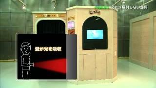 体感型実験装置群「光」3/15 光の科学1 ②光が反射しない部屋