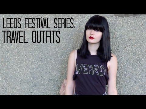 Leeds Festival Series: Travel Outfits | LivLoren