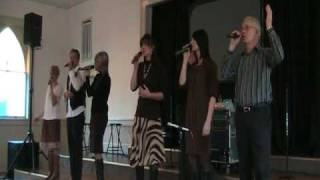 The Crist Family sings Jesus, Savior Pilot Me
