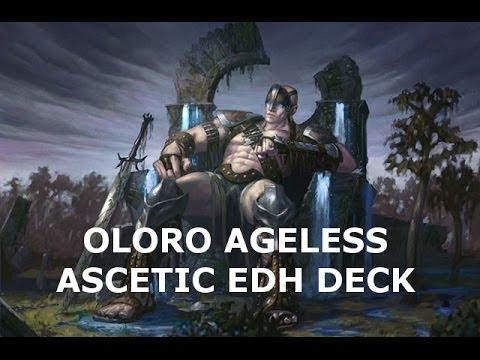 Magic The Gathering Random Commander Challenge (X mage) #1 Building Oloro, Ageless Ascetic