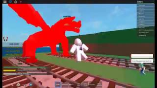 ROBLOX Fairy Tail Online Fighting - Slaining Igneel