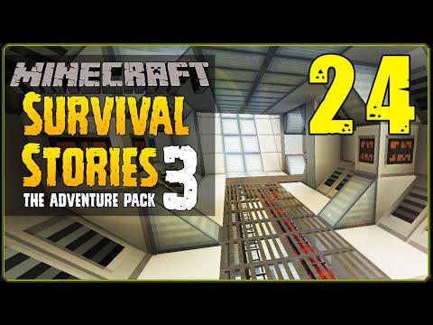 Minecraft Modded | Survival Stories 3 [S1E24] - Mini Base Tour!