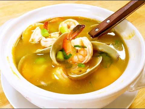 How to Cook Amazing Seafood Soup? CiCi Li - Asian Home Cooking Recipes