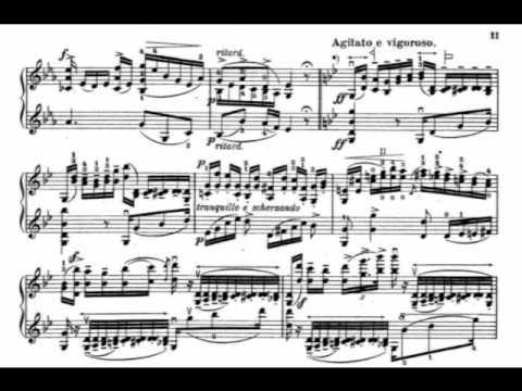 Wieniawski, Henryk op.18 for 2 violins part 1,2,3,4
