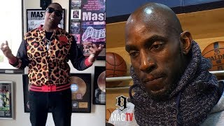 "Master P Addresses Kevin Garnett Losing $77 Mil To ""Guys In Suits!"""