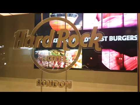 Hard Rock Hotel London. A MUST Visit.