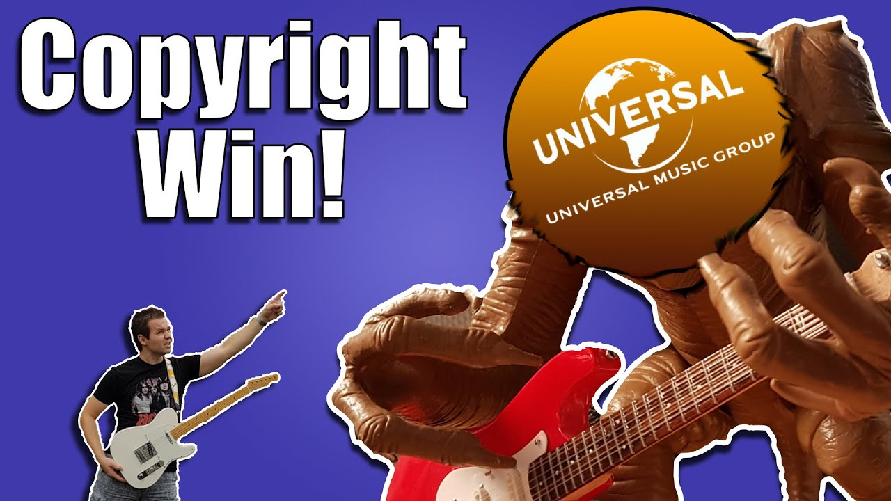 How My Copyright Claim from UMG (Universal Music Group) Got Released!
