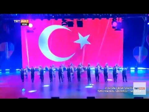 Türkiyem Özel Gösterisi - 23 Nisan Çocuk Şenliği - Nevşehir - TRT Avaz