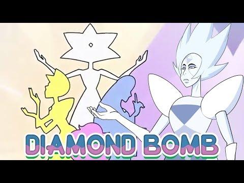 WHITE DIAMOND REVEALED! April 2018 Diamond Steven Bomb Announced! - Crystal Clear