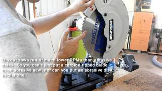 Evolution dry cut saw review