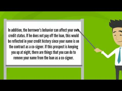 Removing Your Name As A Co-Signer For A Loan  - Certified Mortgage Broker Toronto