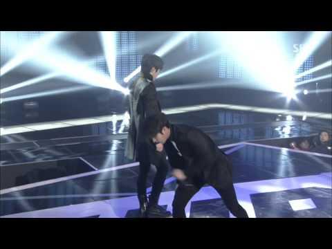 [1080P] 141221 INFINITE (인피니트) - Last Romeo & Back @ SBS Gayo Daejun