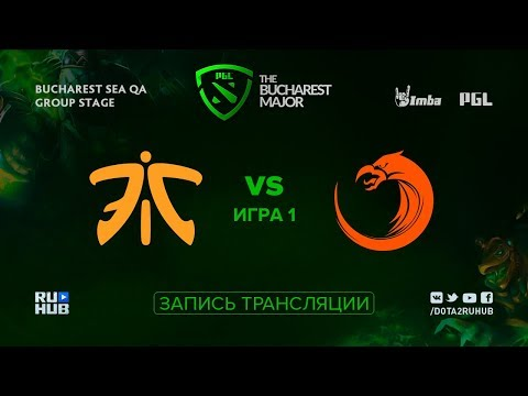 Fnatic vs TNC, PGL Major SEA, game 1 [Adekvat, Smile]