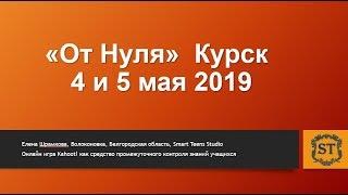Приглашение на фестиваль От Нуля Курск 2019