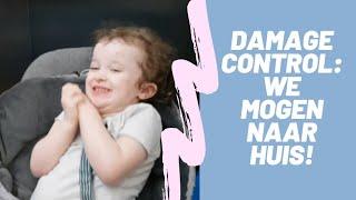 VLOG 52   Damage control: we mogen naar huis!   MommyTalk VLOGS