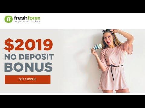 Freshforex $2019 No Deposit Only Bonus