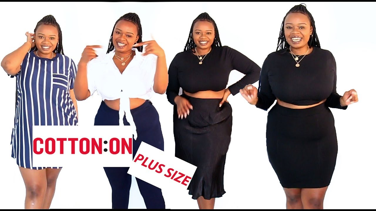 01e16533ca0a COTTON ON PLUS SIZE IN AFRICA: FASHION HAUL - YouTube