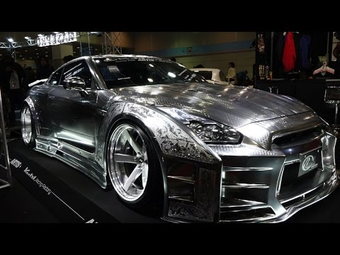 Wallpaper Super Cars Download 4k Kuhl Racing Nissan Gt R Metal Paint Osaka Auto Messe