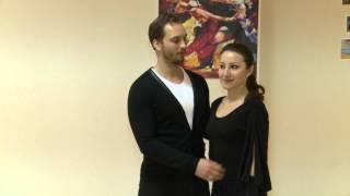 Обучение хастлу. Парные танцы с нуля. Видеоурок #3 - Базовая поддержка