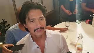 Robin Padilla's Interview Regarding with Jiwan Kim