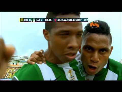 Bucaramanga 2-2 Nacional. Fecha 11 Liga Aguila 2016-II-Win Sports