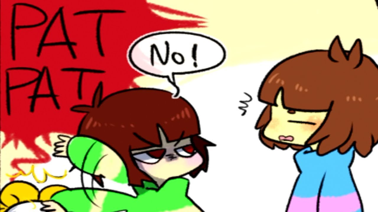 Frisk and Chara fight over Flowey? (Undertale comic & animation dubs  Compilation)