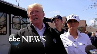 Trump calls Hurricane Michael aftermath 'total devastation'