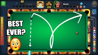 PROBABLY THE GREATEST 8 BALL POOL SHOT OF ALL TIME...
