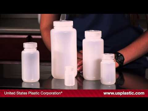 THERMO SCIENTIFIC™ NALGENE™ SMALL HDPE WIDE MOUTH BOTTLES   U.S. Plastic Corporation®