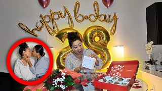 SURPRISING MY WIFE FOR HER BIRTHDAY!!! **Emotional** | LGBTQ