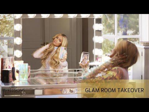 Paris Hilton x Impressions Vanity | Glamroom Takeover