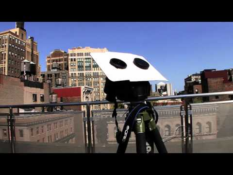 Make a Safe Sun Projector with Binoculars