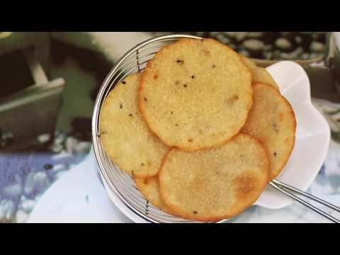 റവ പൊരി/Malabar Malpua/ Nalumani Palaharam / Rava Snack Recipe in Malayalam