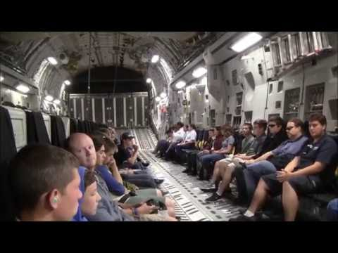 My Flight in a C-17! | With Tactical Takeoff, Descent, and Landing | March Air Force Base, CA